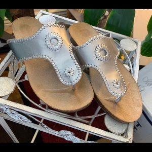 Dr Scholl's Silver Sandals